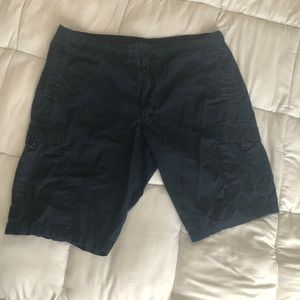 Navy blue Nike Cargo shorts
